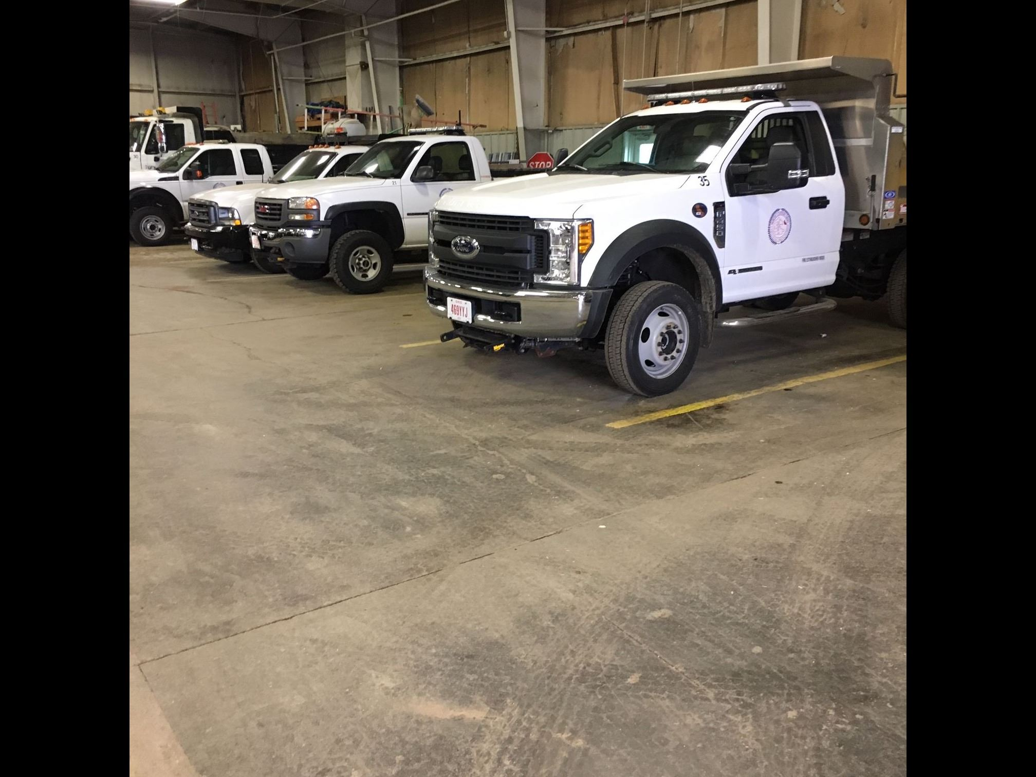 Street Department Service Vehicles